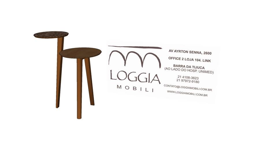 Mesa Lateral Layer TM Loggia Mobili