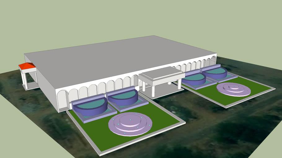 Maamallan College Mess Hall - 3D Model