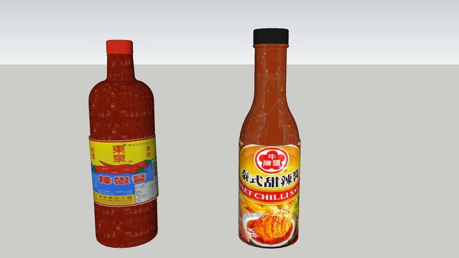 辣椒醬    甜辣醬    泰式甜辣醬   chili sauce &  Thai sweet chili sauce