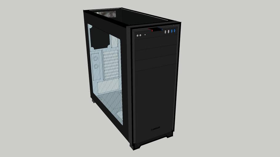 Corsar obsidian 750d tower PC case, компьютерный клопус корсар обсидиан 750