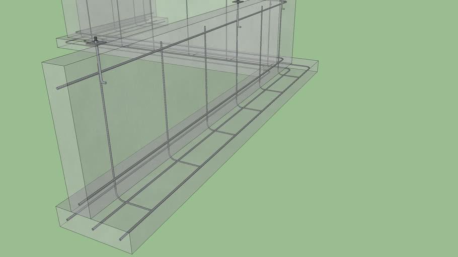 Asymmetric Stemwall Foundation