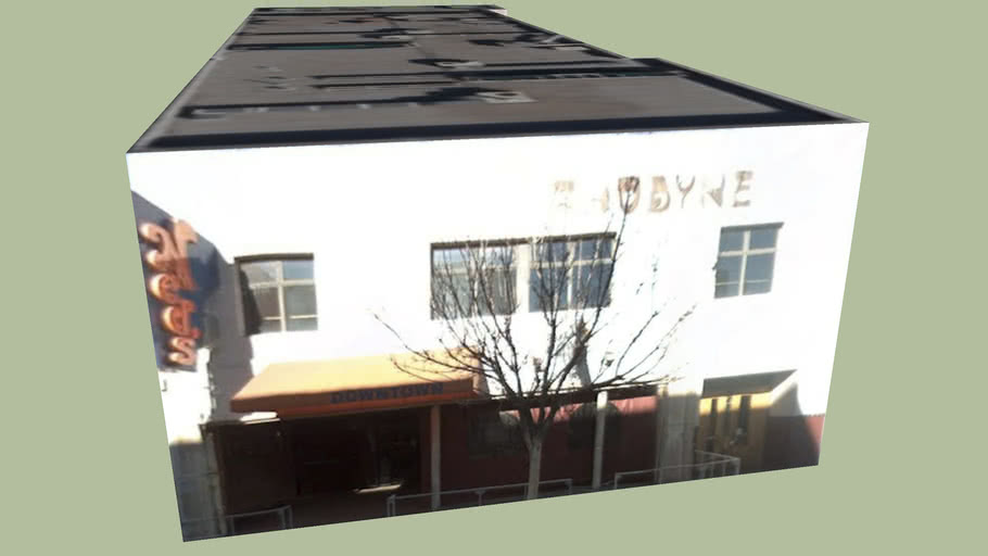 Building in downtown Albuquerque