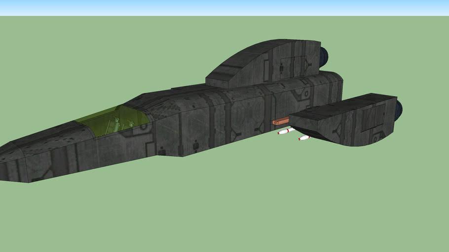 Avenger Class Long Range Starship Attack Craft