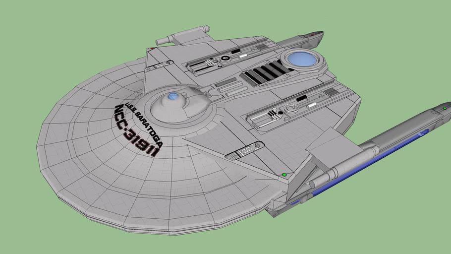 USS Saratoga, Miranda Variation