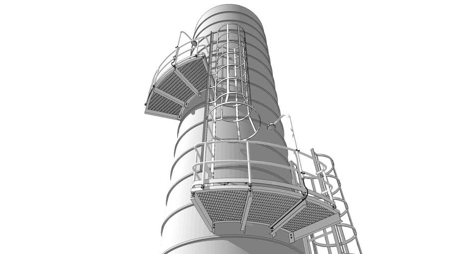 Handrail & Ladder - Refinery