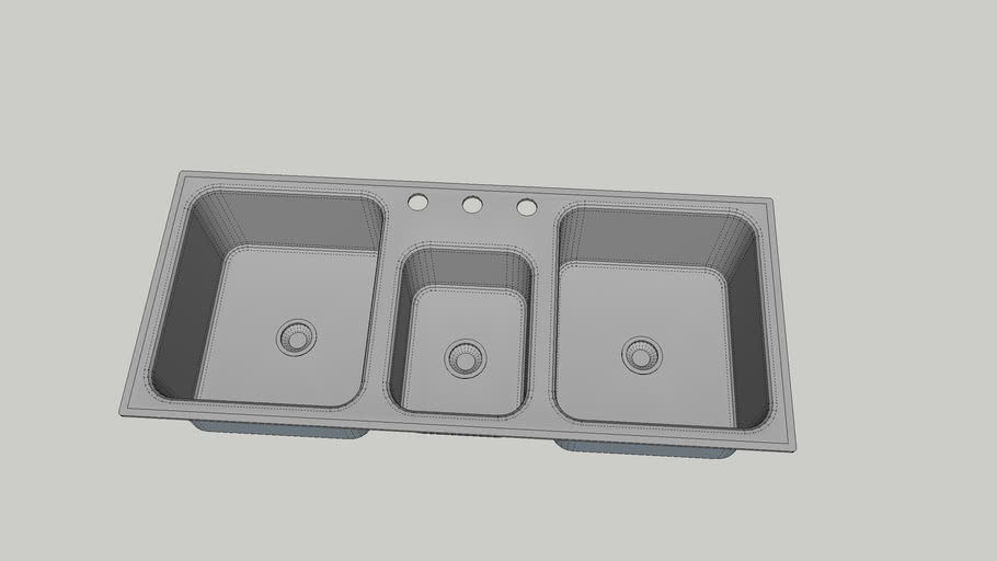3 Basin Sink