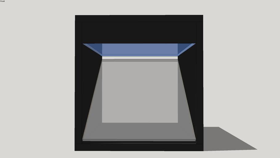Hologram in Glass