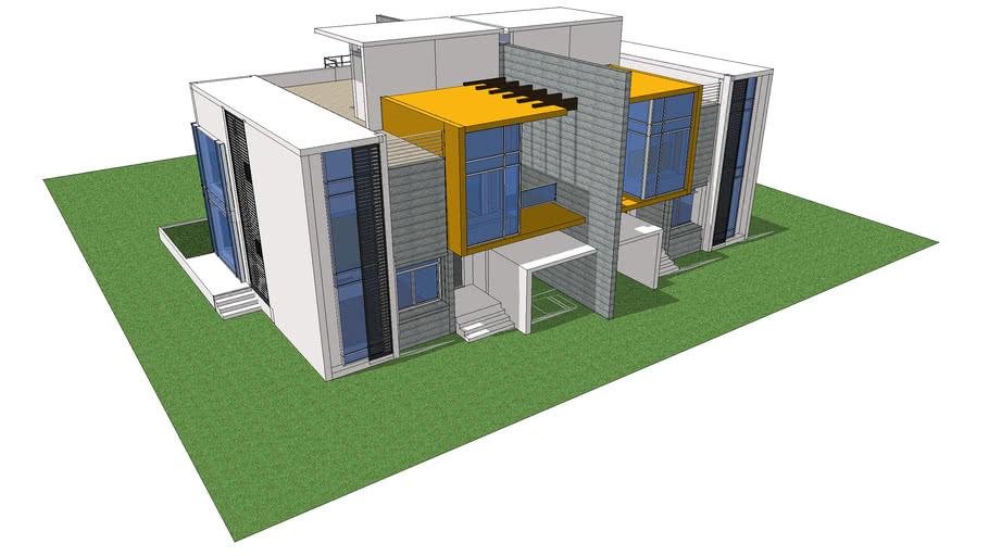 Contemporary Twinhouse