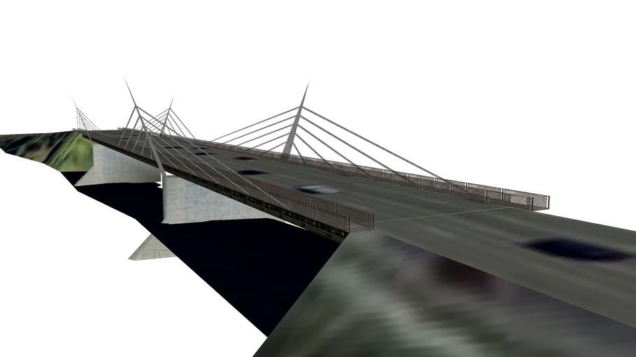 Walterdale Bridge Alternate Concept 3