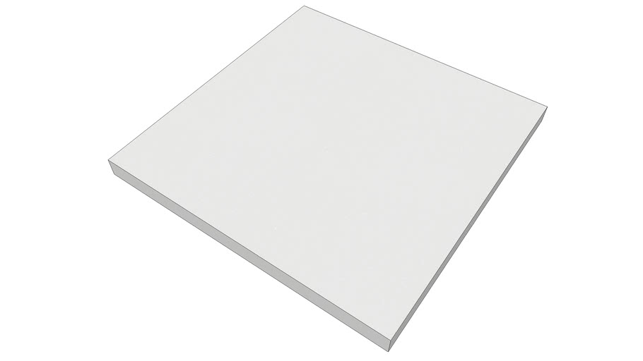 EliAcoustic Regular Panel 60.4 Pure White