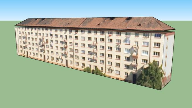 Budova na adrese Praha, Česká republika panelak 3