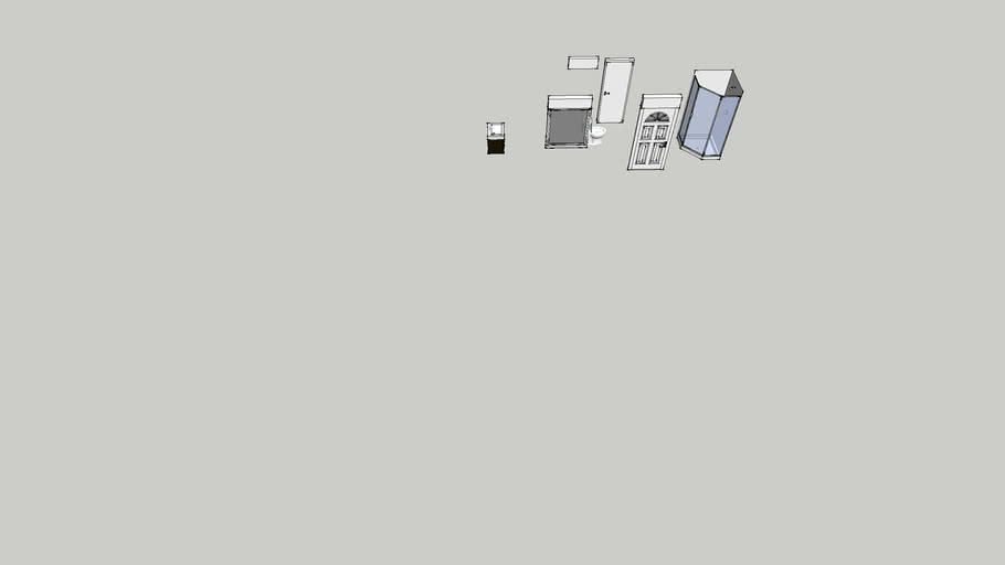 Diverse huskomponenter