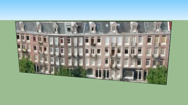 Gebouw in 1074VG Amsterdam, Nederland