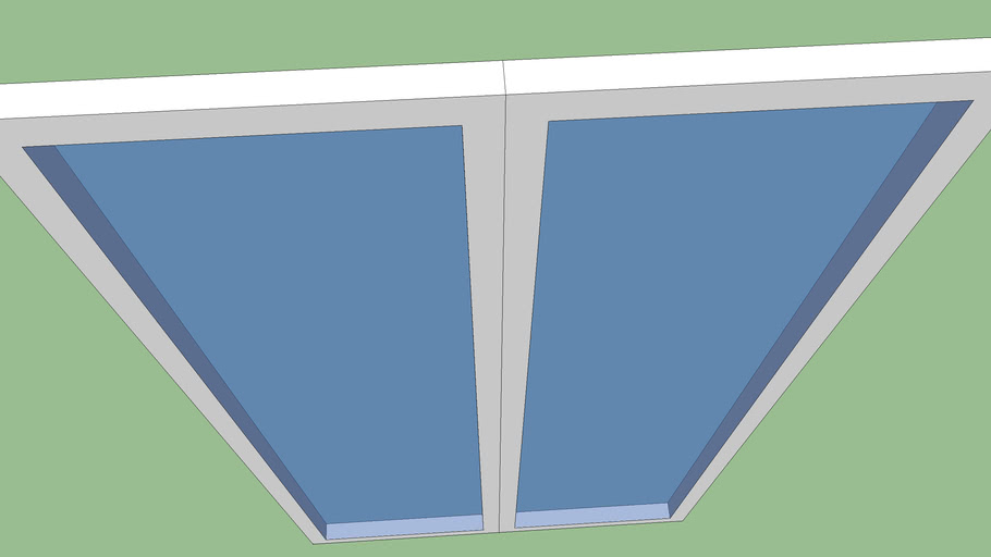 Baie vitrée 1,20x2,15m