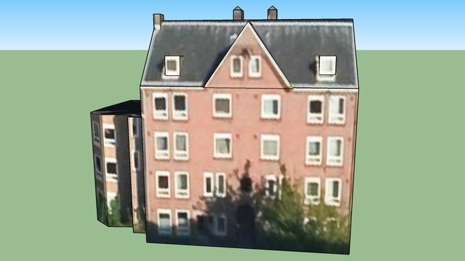 Gebouw in 1013 WR Amsterdam, Nederland