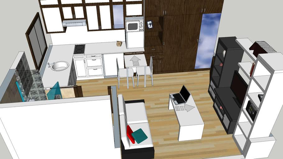 Apartment 18 m2 (2)