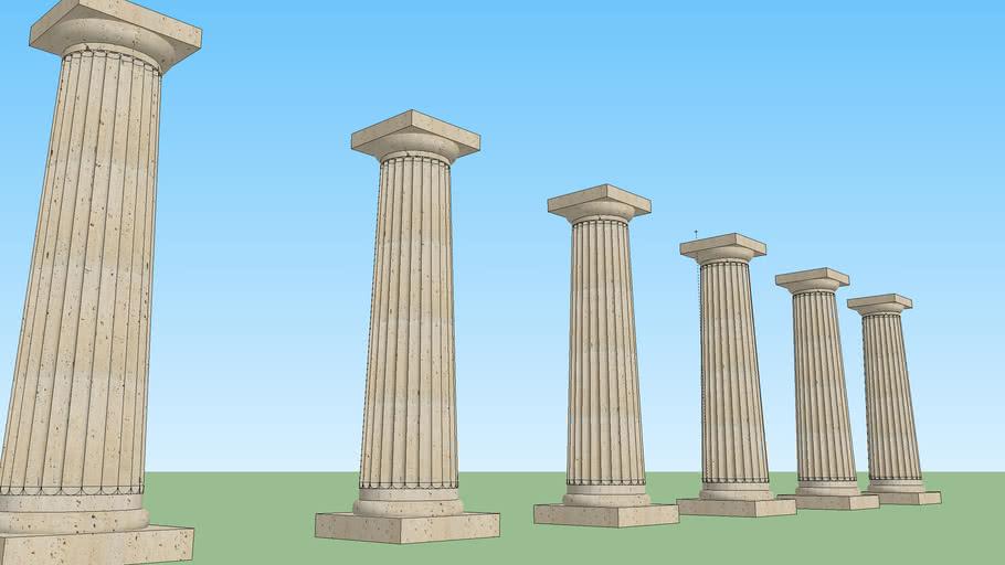 Colonna in stile Dorico - Doric Column
