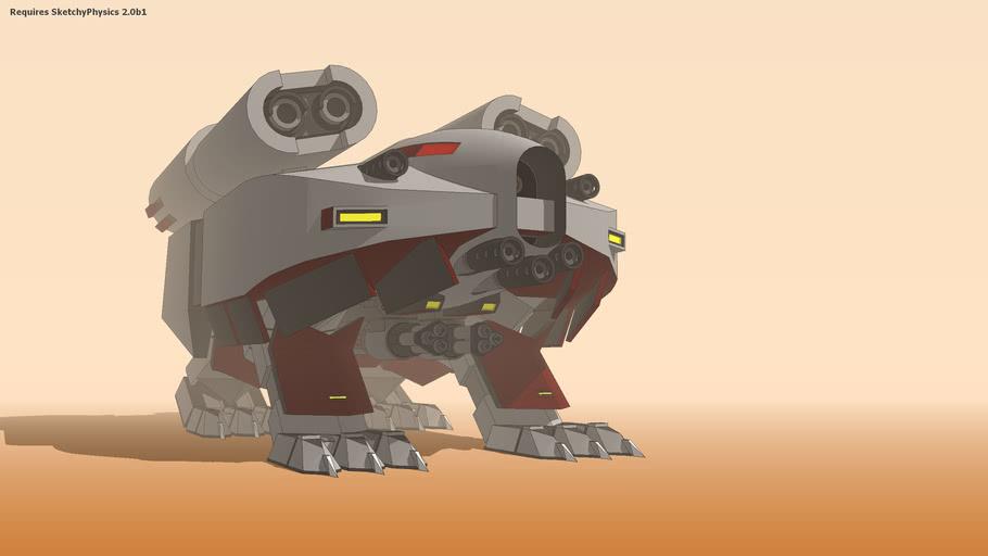 Robot d'assaut lourd XPH 4-35