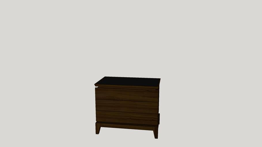 Table End C Otake 80x50x67_Louis Kazan_Casapronta