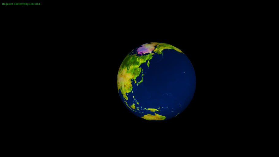 UPDATED FOR MR PLANET Simple Earth With a Motor
