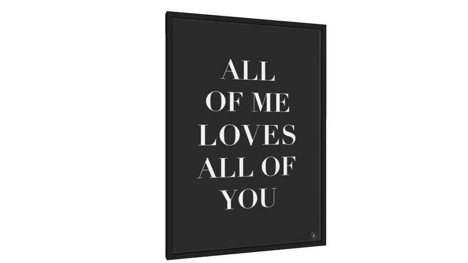 Quadro All of me II - Galeria9, por Larissa Grace