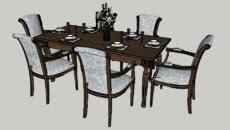 dinning set table