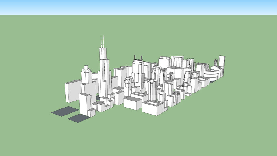 Chicago IL 2019 WIP (the loop so far)