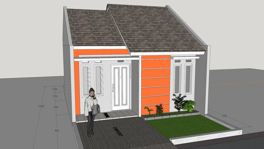rumah type 36-72 | 3D Warehouse