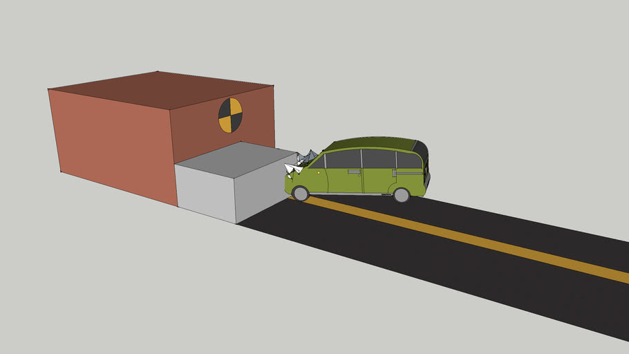 Exemark LightVan crashtest NCAP