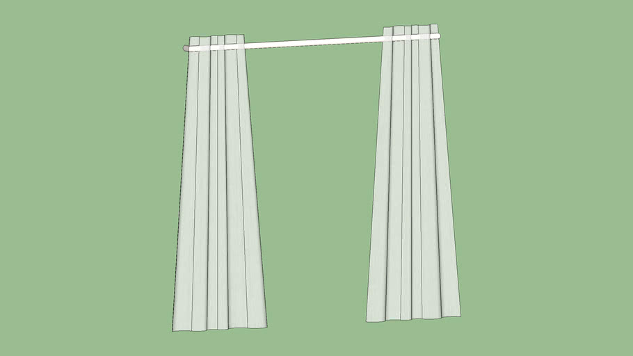 """Crate & Barrel Lindstrom White Curtains 84"""""""