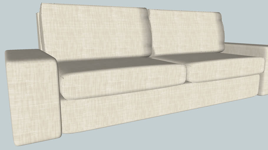 Ikea Kivik Sofa 3d Warehouse