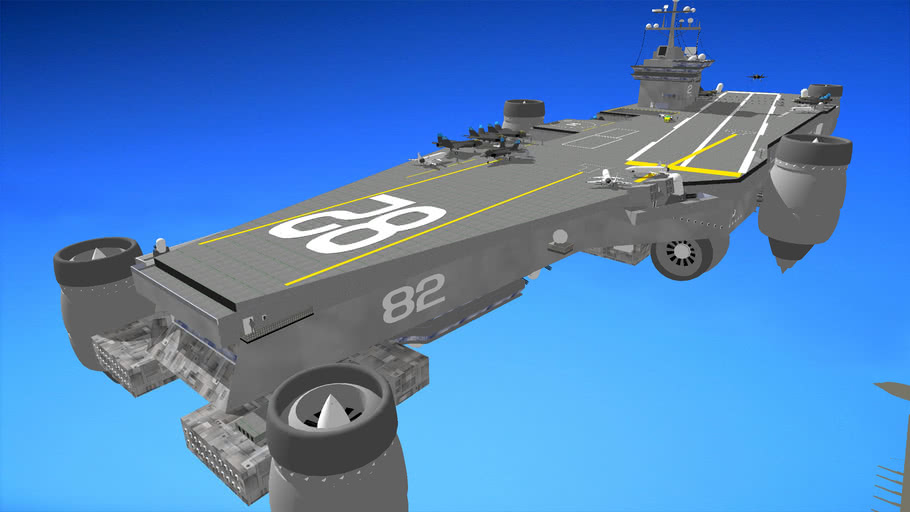 Aerial Aircraft Carrier (CVNA-82) (1st place)