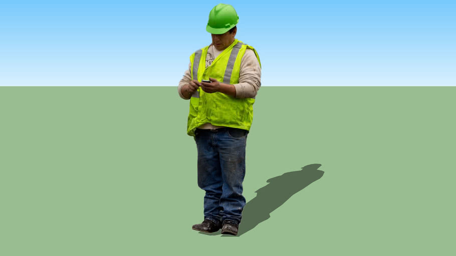 2D People - Construction Worker 1