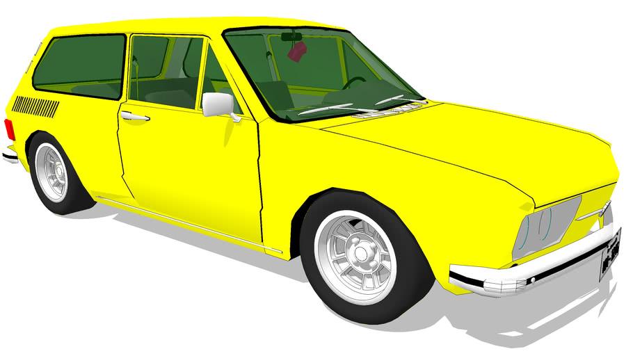 VW BRASÍLIA - VOLKSWAGEN