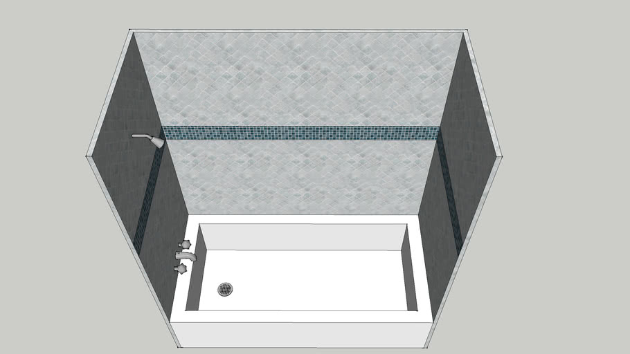Shower Tub Unit 2