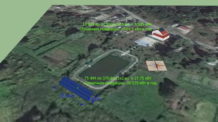 солнечная станция Сошников ВП 4-25 кВт Avante99 Аванте99