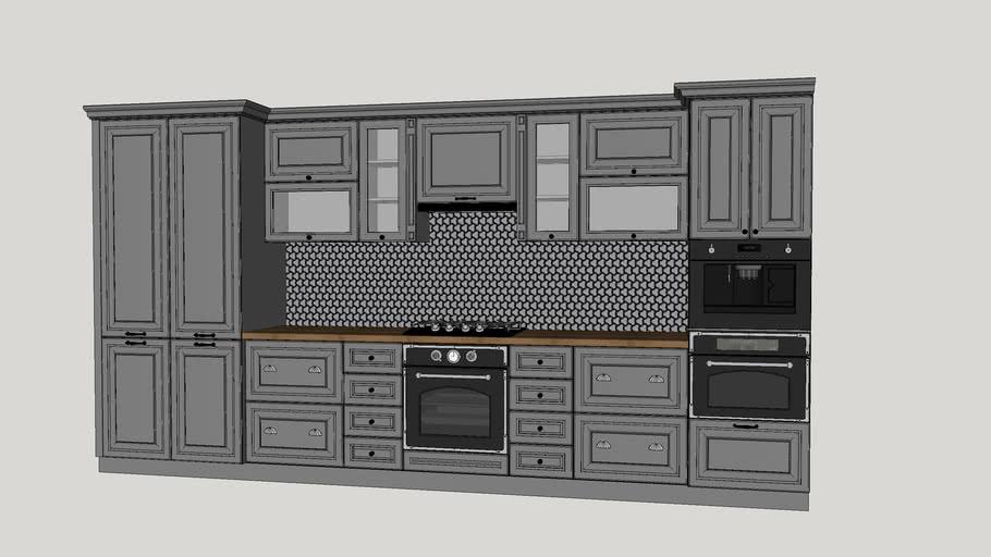 """kitchen furniture, kitchen, кухня """"Париж"""" ЗОВ, кухня"""