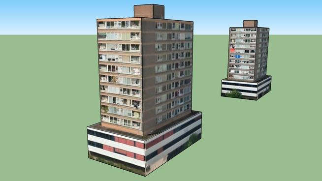 Resedential flats in Amsterdam, Nederland
