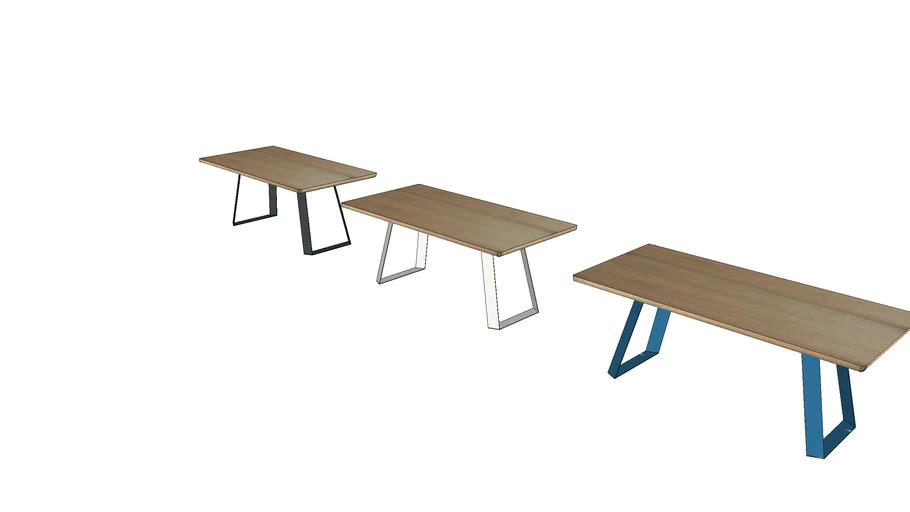 Zamagna - Table Mr. Big Legno