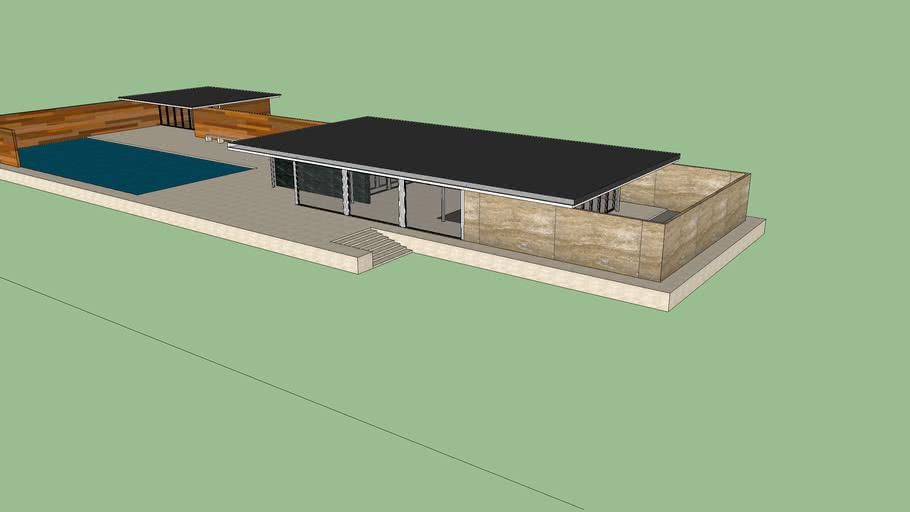 Стены для загородного дома