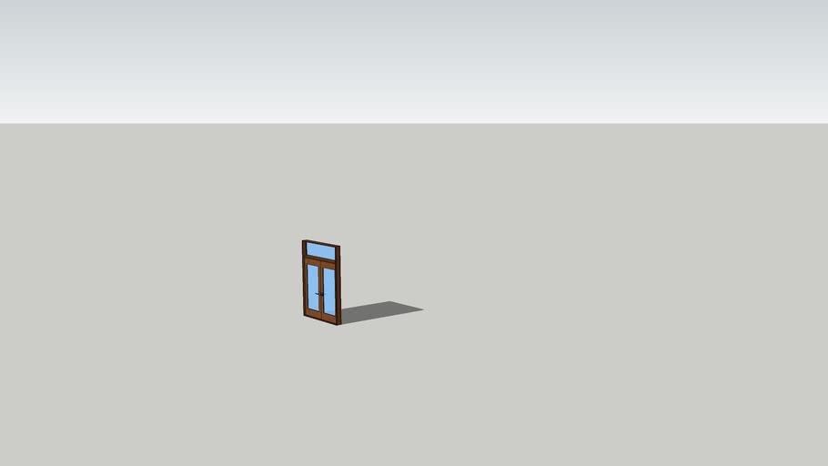 6'x7' french door with top lite