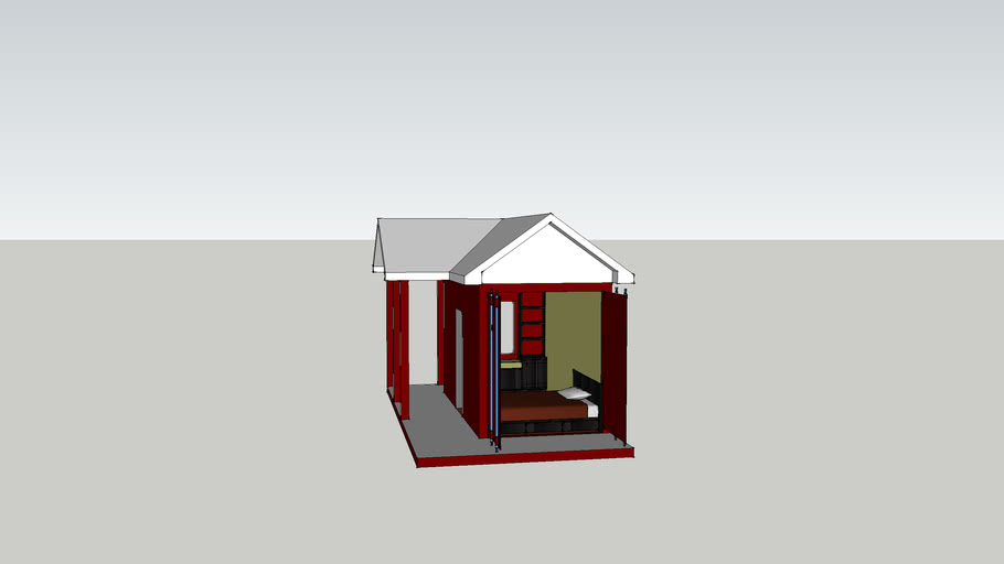Container room 1 - 8x20