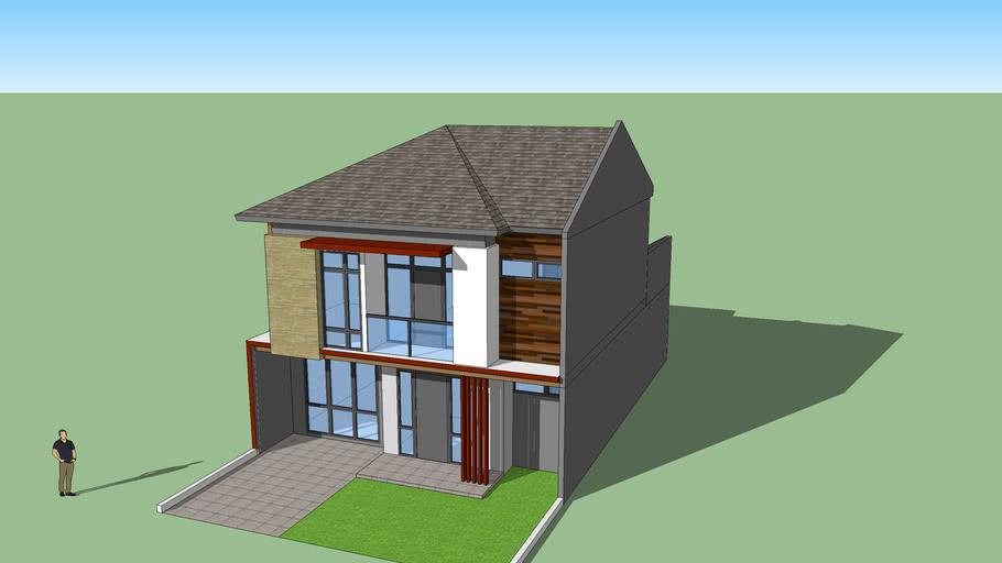 rumah minimalis project om Anwar