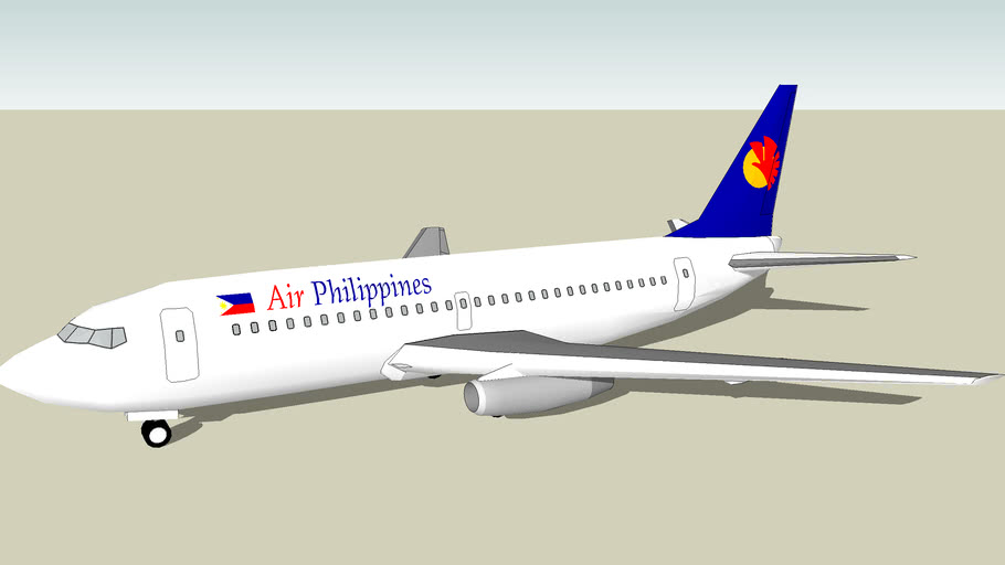 Retired Air Philippines Boeing 737-200