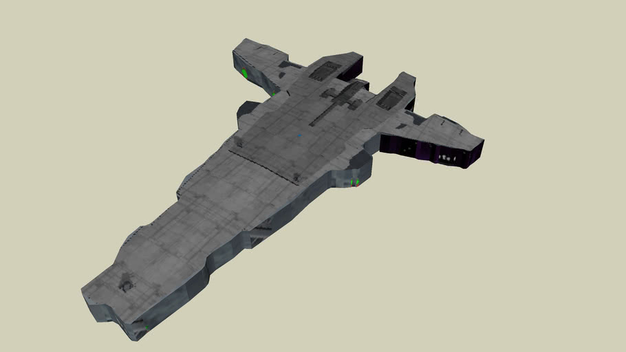 Victory II Class Frigate From Star Wars Battlefront 2........  Sort Of