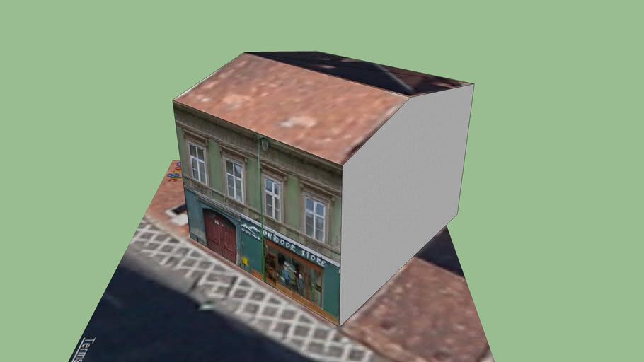Building on George Baritiu street, Brasov