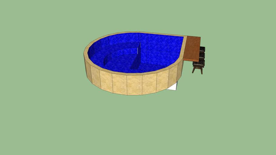 piscina jacuzzi (Lounge pool)