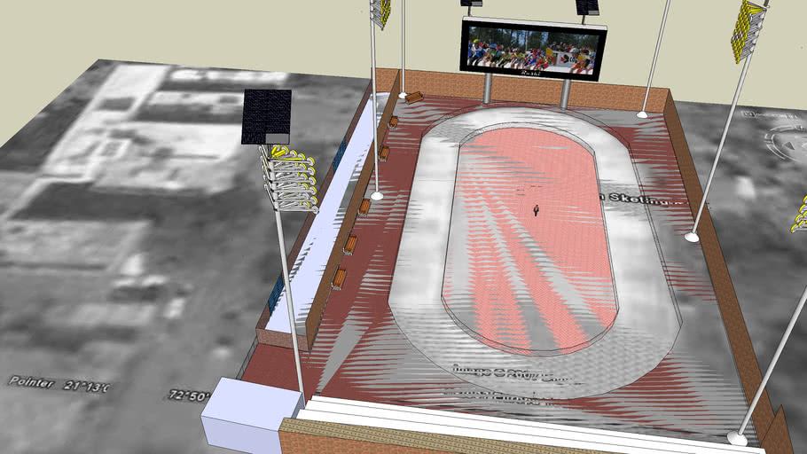 Katargam Sketing Rink Solar Powered Model