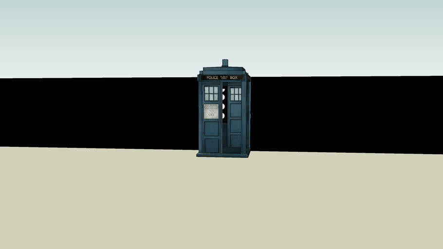 Tardis For Kaneva