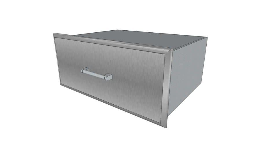36' Storage Drawer - Coyote Outdoor Living, Inc.   3D ... on Coyote Outdoor Living Inc id=31653